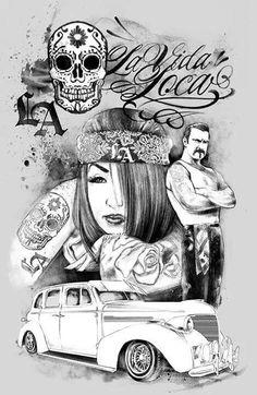 Forever mi Vida Loca....Latinos 100%..