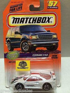 (TAS009217) - Matchbox Cars - Ferrari F40