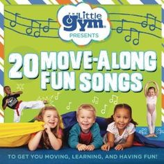 The Little Gym 20 Move-Along Fun Songs - cute stocking stuffer! Check out the #Giveaway on happilyblended.com!