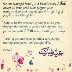 Eid Mubarak to u all . Eid Wishes Messages, Eid Wishes Quote, Eid Mubarak Messages, Eid Mubarak Quotes, Eid Quotes, Eid Mubarak Wishes, Eid Mubarak Greetings, Happy Eid Mubarak, Qoutes