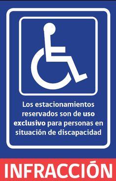 Volante Informativo Estacionamientos Reservados para Personas en Situación de Discapacidad
