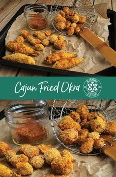 If you love fried okra, have we got a recipe for you! This Cajun Fried Okra recipe from the grilling experts at Savory Spice Shop is the perfect BBQ side dish! Savory Spice Shop, Okra Recipes, Bbq Menu, Side Dishes For Bbq, Cajun Seasoning, Breakfast Lunch Dinner, Good Enough To Eat, Dinner Sides, Test Kitchen
