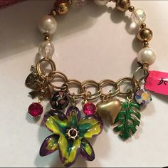Betsey Johnson Charm Bracelet New in box Betsey Johnson Jewelry Bracelets