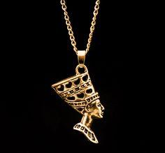 Joji Boutique - golden Nefertiti egyptian necklace, (http://www.jojiboutique.com/products/golden-nefertiti-egyptian-necklace.html)