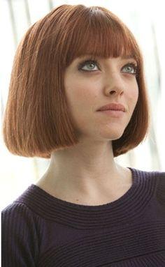 Amanda Seyfried - bob hair
