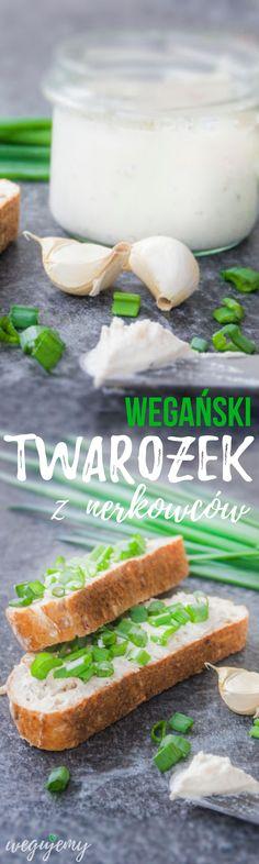 Serek kanapkowy z orzechów nerkowca - Twarożek wegański na kanapki