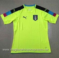 Nuova maglie calcio 2016 per maglia Portiere Italia 2016 verde