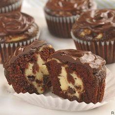 Chocolate Cheesecake Cupcakes