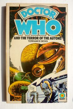 Terror of the Autons 1st edition front cover - May 1975 - Cover by Peter Brookes