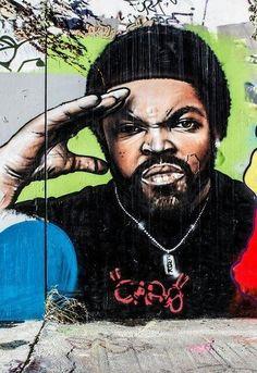 Street Art - Ice Cube