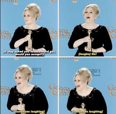 27 Times Adele Proved She's Actually The Realest Celebrity Of All