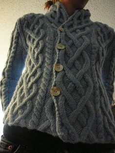 Ravelry: Fireside Sweater pattern by Amber Allison Aran Knitting Patterns, Cable Knitting, Cable Knit Sweaters, Knit Patterns, Hand Knitting, Cable Cardigan, Jacket Pattern, Cardigan Pattern, Pulls