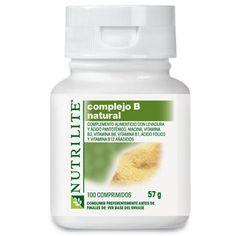 Complejo B  90 días de garantía Suplemento vitamínico de Complejo B de granjas orgánicas  El suplemento vitamínico Complejo B Natural es una fórmula nutritivamente equilibrada de siete vitaminas B esenciales, seis de ellas principalmente de origen natural.