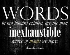 one of my favorite harry potter quotes:)