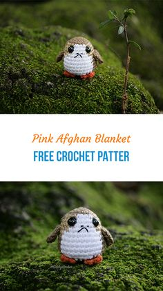You Want A Porg? Make Your Own #crochet #yarn #toys #homedecor #style #beauty Make Your Own, Make It Yourself, How To Make, Crochet Bunny Pattern, Afghan Blanket, Stuffed Toys Patterns, Crochet Yarn, Crochet Projects, Crocheting