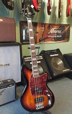 Ibanez Talman TMB300 Electric Bass Guitar - Tri-Fade Burst