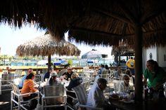 On the Water! - Cracker's Bar, Grill & Tiki, Crystal River, Florida #beeronthewater #tiki #iloveflorida http://www.crackersbarandgrill.com/