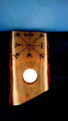Vegvisir T-light Holder Viking Compass Huld tea light