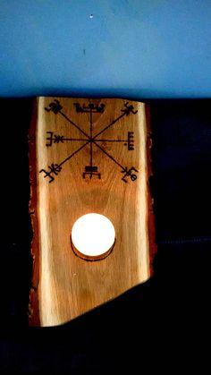 Vegvisir T-light Holder Viking Compass Huld tea light