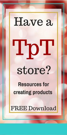 You need resources for products! Teacher Signs, Teacher Blogs, Teacher Hacks, Your Teacher, Teacher Resources, Jobs For Former Teachers, Teachers Pay Teachers Free, Teaching Time, Teaching French