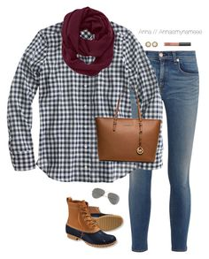 """We lost our game "" by annaismynameee ❤ liked on Polyvore featuring mode, rag & bone, L.L.Bean, NARS Cosmetics, J.Crew, Ray-Ban, Kendra Scott, Athleta en MICHAEL Michael Kors"