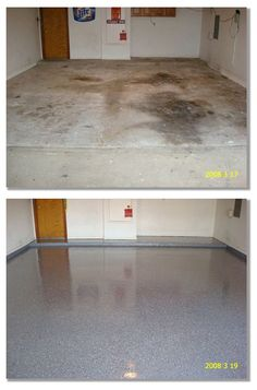 Versatile Coatings Epoxy Flake Floor coatings are great for a garage floor, patio, driveway, shop or on any concrete surface where you what decorative to also be slip resistant. Epoxy Garage Floor Coating, Garage Floor Coatings, Garage Floor Epoxy, Epoxy Floor, Basement Floor Paint, Painting Basement Floors, Concrete Floor, Concrete Patio, Garage Renovation