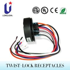 Wire in photocell photo control day night light sensor photoelectric ansi c13641 nema photocell 7 pin receptacle swarovskicordoba Gallery