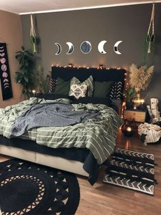 Room Design Bedroom, Room Ideas Bedroom, Home Decor Bedroom, Aesthetic Room Decor, Cozy Room, Dream Rooms, House Rooms, New Room, Decorating