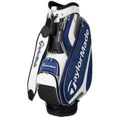 6987777f3c7d TaylorMade G-8 Series Grand Style Caddie Golf Bag Club Bag Backpack Navy  BP4049