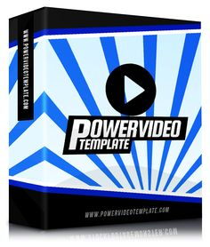 Power Video Template - A Total Gamer Chancer Video Toolkit That Allow You To Create Spectacular and Engaging Videos In Just Using Powerpoint Power Video Email Marketing, Affiliate Marketing, Internet Marketing, Marketing Software, Of Brand, Engagement Photos, Success, Templates, Create