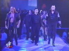 Corporate Ministry's first appearance on Raw, May 1999 Wwe Stuff, Undertaker, Monday Night, Ministry, War, History, Concert, Historia, Concerts