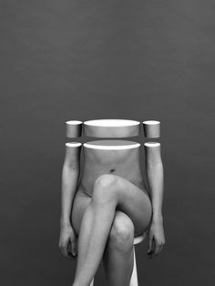 art 4 fun collage surrealism photography graphic art body nude artist Matthieu Bourel