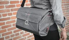 Everyday messenger bag by Peak Design. No corners were cut in the building of this bag.