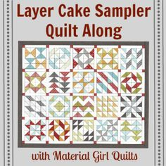 Heading South Table Topper {tutorial} | Material Girl Quilts