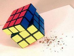 Rubik's Cube Pepper Grinder