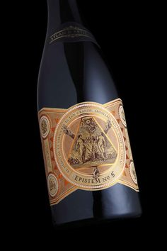 Epistem Wine Packaging by Stranger & Stranger