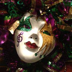 Mardi Gras Mask Decoration
