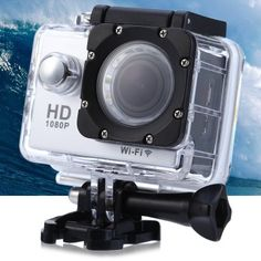 Ultra HD 170 Degree Wide Angle WiFi Action Camera Novatek 96660 Chipsest with inch LTPS Screen Main Features: ultra HD WiFi action ca Radios, Cameras For Sale, Camera Sale, Wifi, Thailand Shopping, Bluetooth, Tv, Gadget World, Degree Angle