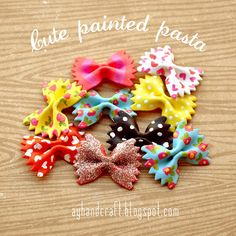 Cute Painted Pasta - Pasta decorada | Agus Yornet Blog