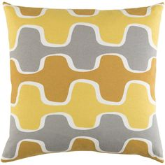 Langley Street Arsdale Square Cotton Throw Pillow Cover & Reviews | Wayfair