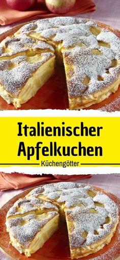 Advertisement Zutaten: 250 g zucker 1 pck. Vanille-zucker 5 apfel sauer 100 g bu Easy Cake Recipes, Sweet Recipes, Gateaux Cake, Sweet Bakery, Vanilla Sugar, Food Cakes, Cake Cookies, Sweet Treats, Food And Drink