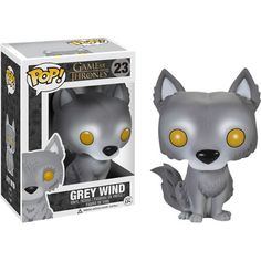 We have some EXCLUSIVE Game of Thrones POP! Vinyl figures coming into stock next month. First up is GREY WIND: http://www.forbiddenplanet.co.uk/game-of-thrones-pop-vinyl-figure-grey-wind#.U3oGC1hdU6c