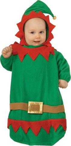 Baby Bunting Elf Costume - Party City