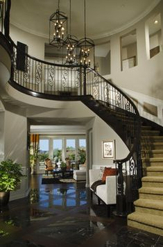 Always dreamed of having a staircase like this in my home...