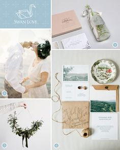 Swan Love dreamy neutrals Wedding Stationery, Wedding Invitations, Seven Swans, Swan Love, Love Is Patient, Whatsapp Message, Sweetest Day, Big Day, Invites