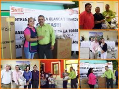 Sección 3 del SNTE entrega línea blanca y diversos apoyos a trabajadores de la educación en Mulegé, Loreto y Comondú.