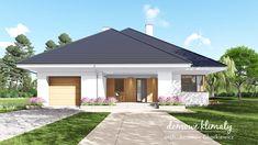 Projekt domu Selene VIII 115,60 m² - Domowe Klimaty Bungalow, House Plans, Outdoor Decor, Home Decor, Home Colors, Projects, Decoration Home, Room Decor, House Floor Plans