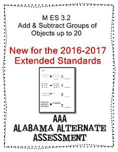 M 3.2 Extended Standards Add & Subtract Groups of Objects