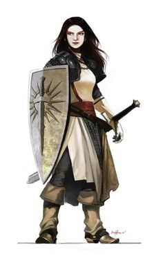 Believable female warrior - wearing clothes! This shouldn't be so rare and…