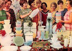 Tupperware party jaren 50